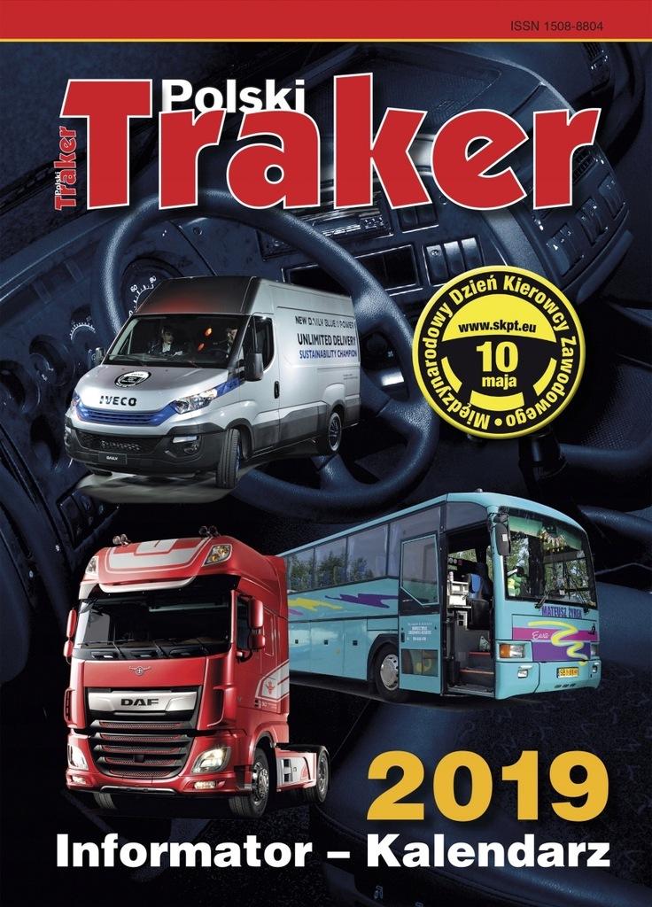Kalendarz Kierowcy Polski Traker 2019 Tir Bus 7762637590 Oficjalne Archiwum Allegro