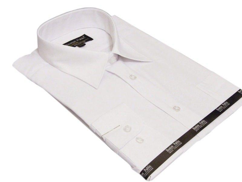 Elegancka koszula męska BIAŁA Boston Public