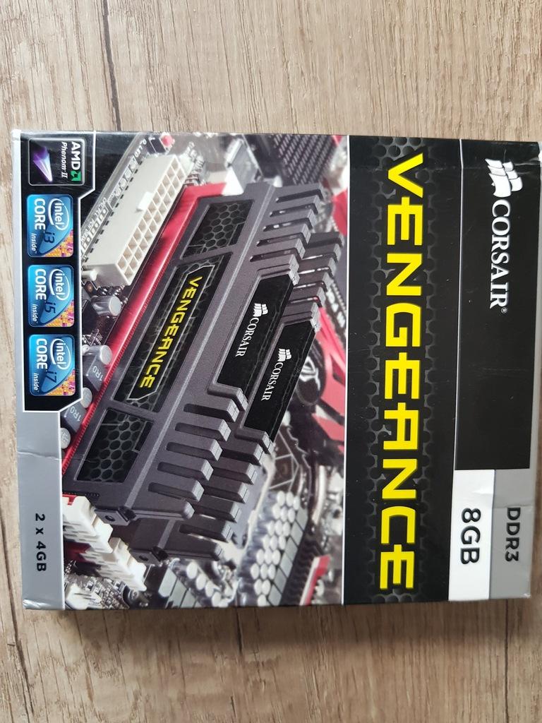 Corsair Vengeance 2*4 Gb 1600 Mhz CL 9