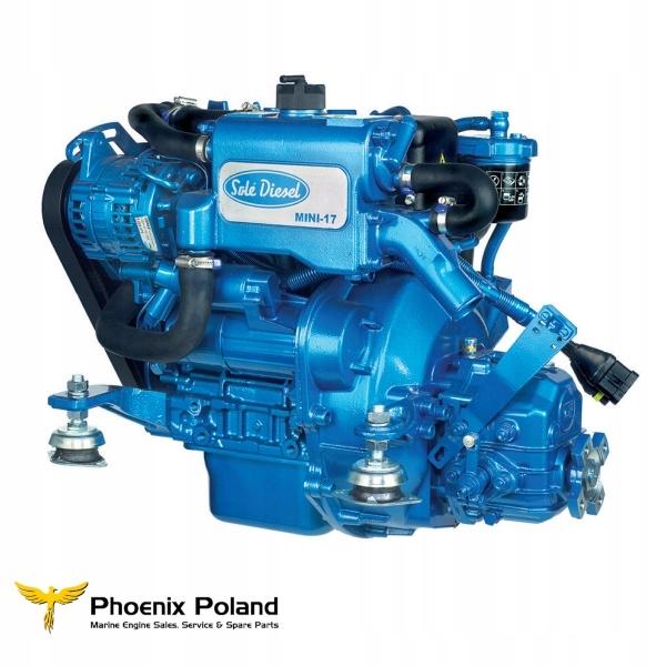 Silnik Sole Diesel MINI-17, 16 KM, z przekładnią