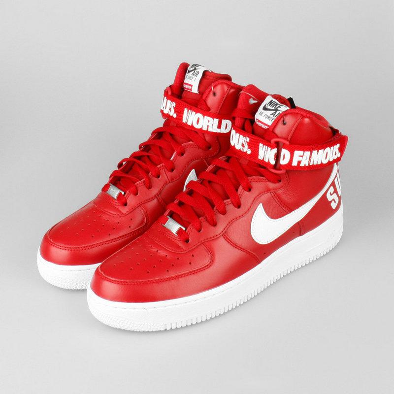 Buty Damskie Nike Air Force 1 High Supreme Varsity Red