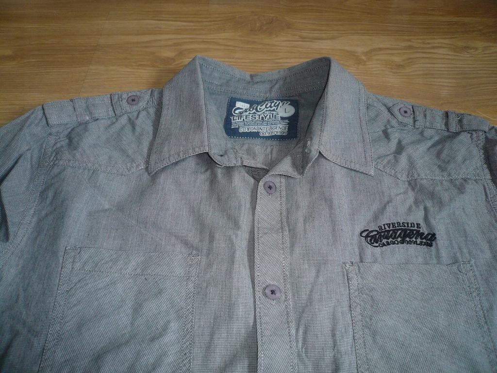 dwie koszule C&A , CURRY i sewter rozmiar L 7520242739  DVhP6
