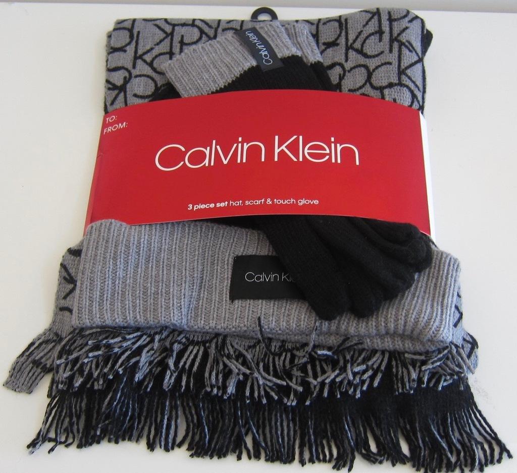 Calvin Klein szalik rękawiczki czapka WYSYLKA z PL