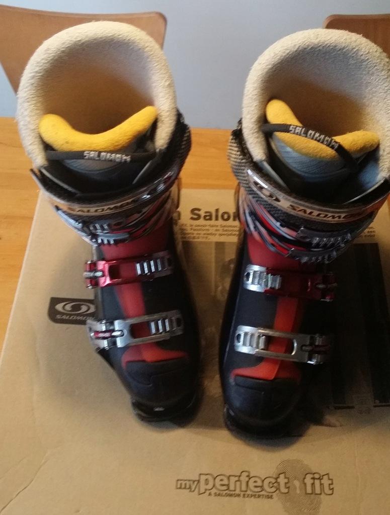 Buty narciarskie Salomon X Wave 8, rozm 42 flex 90