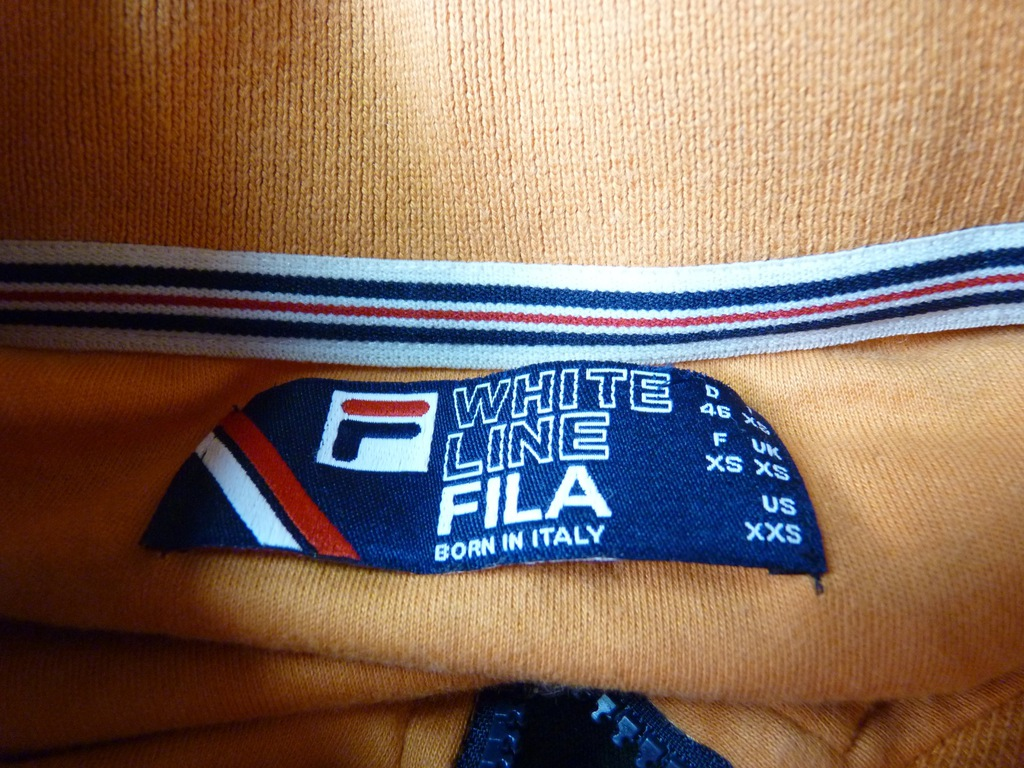 FILA BORN IN ITALY bluza damska na zip RETRO HIT S