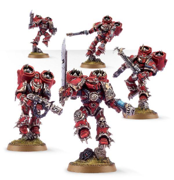 Warhammer 40 000 Chaos Space Marine Raptors 43 13 7547458744 Oficjalne Archiwum Allegro
