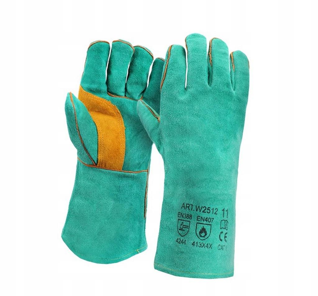 Rękawice Spawalnicze Dla Spawacza Hutnicze Kevlar 6719334555 Oficjalne Archiwum Allegro