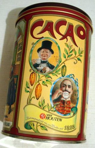 Cacao Van Houten Pelna Puszka 500g Z 1980r 7746374418 Oficjalne Archiwum Allegro