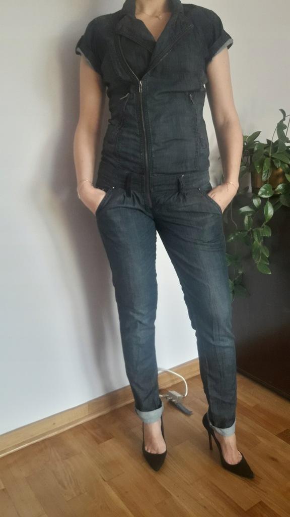 Kombinezon jeans spodnium RESERVED rozmiar 36 / S