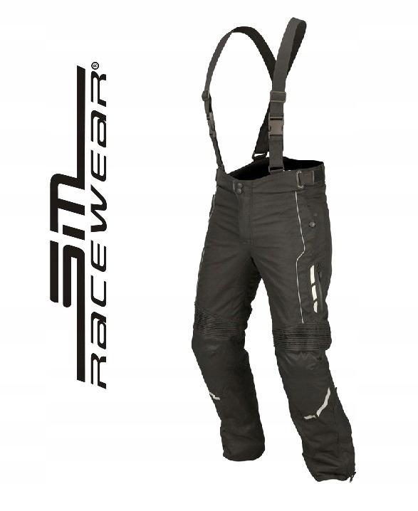 spodnie motocyklowe damskie do kurtki sm racewear