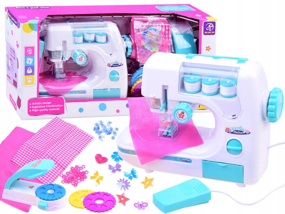 Maszyna do szycia dla dziecka + akcesoria ZA2397