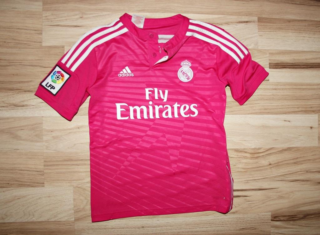 ADIDAS bluzka koszulka REAL MADRYT 140 146