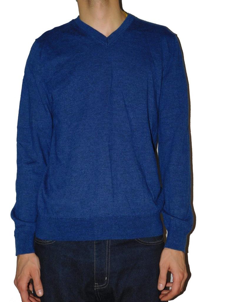 GAP sweter męski M 100% wełna z merynosów