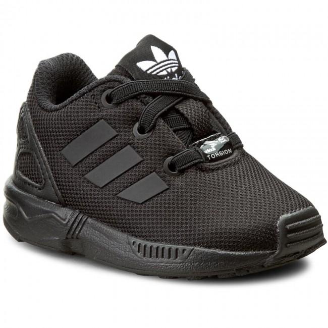 Dziecięce Adidas ZX Flux El I Biały Czarny