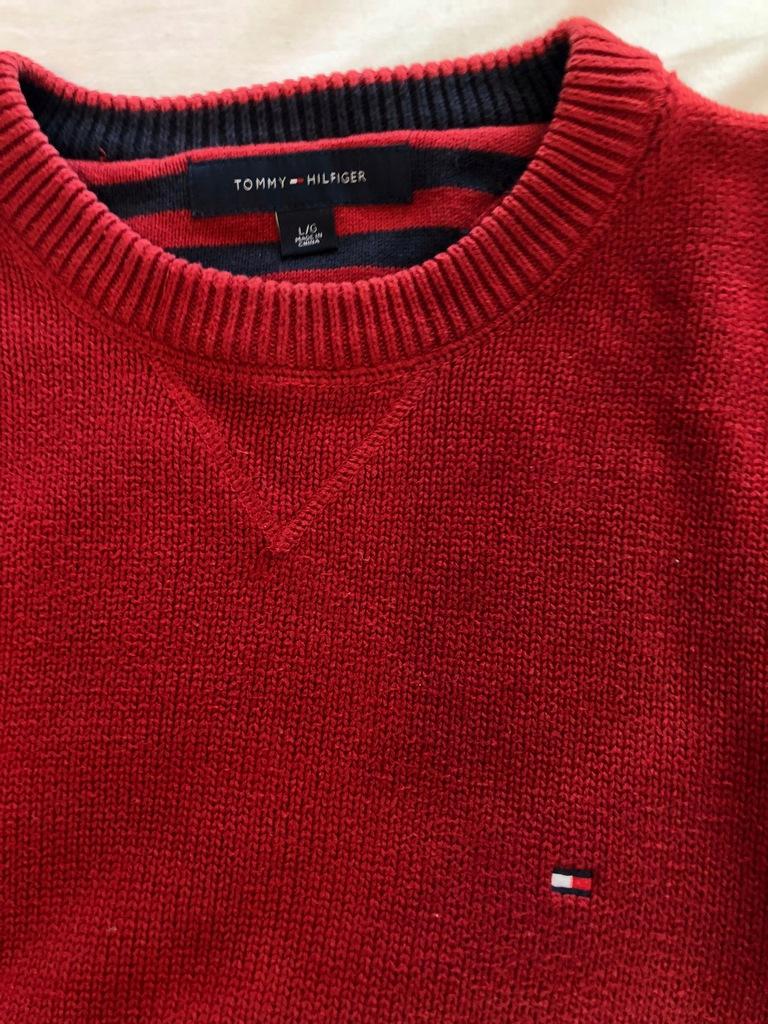 Ciepły męski sweter TOMMY HILFIGER - L
