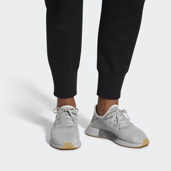 Official Adidas Originals Deerupt Runner Grey ThreeLgh
