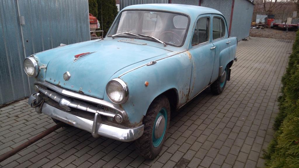 Moskwicz 410 4x4,unikat, jedyny w Polsce, Moskvicz