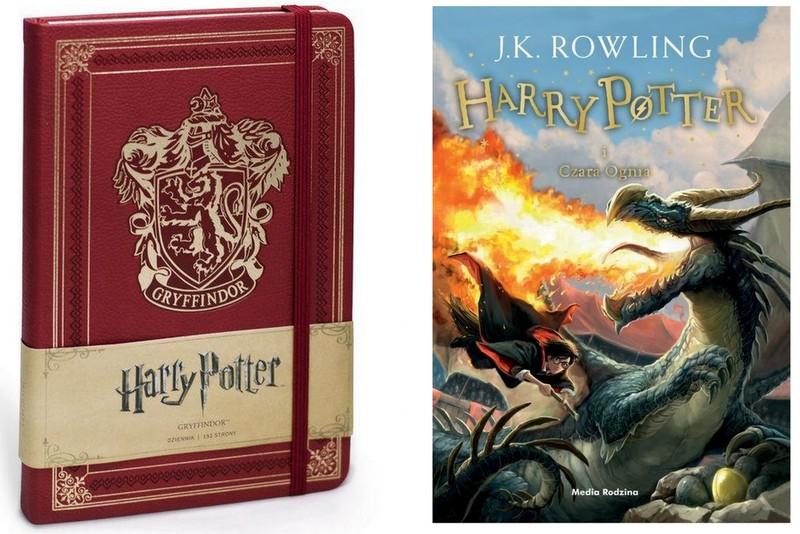 Gryffindor Dziennik Harry Potter I Czara Ognia 6871735186 Oficjalne Archiwum Allegro