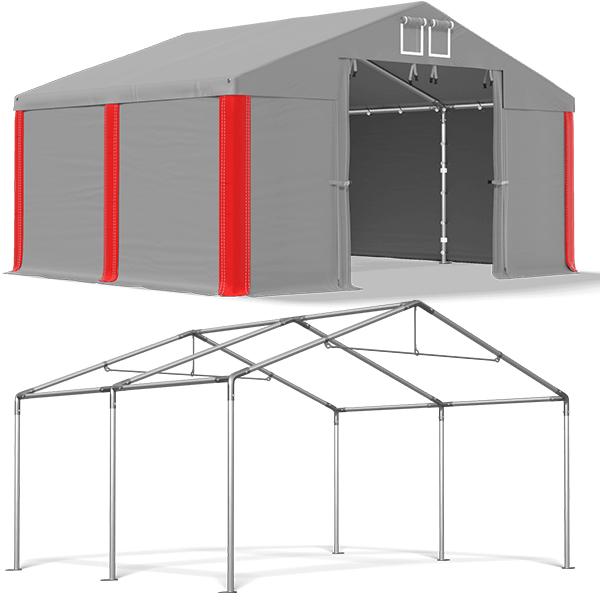 4x4m Namiot MAGAZYNOWY garaż PRZEMYSŁOWY MSD S 7196691710