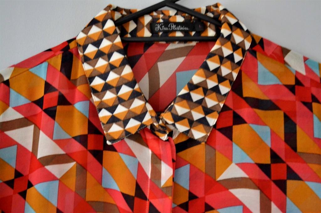 Koszula geometryczne aplikacje Kira Plastinina 7469445581  wChYQ