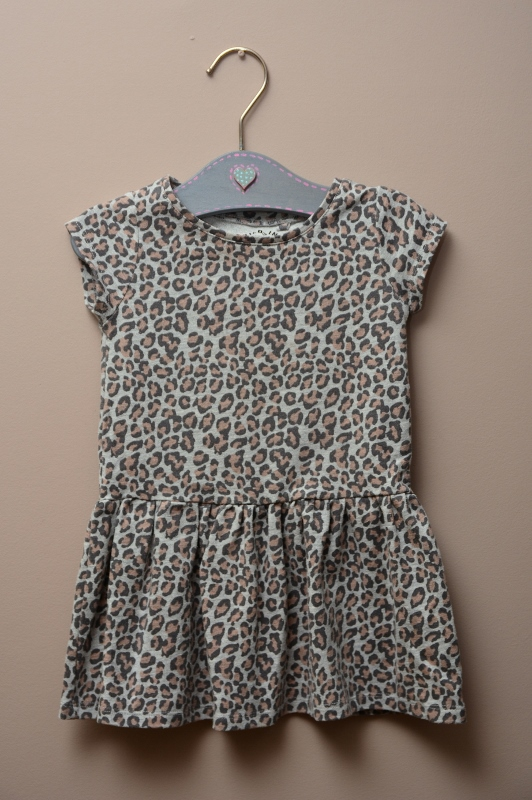 Sukienka C&A, 92, 18-24, panterka, bawełna
