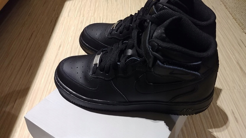 BUTY NIKE AIR FORCE 1 MID (GS) 314195004 r.36 Ceny i