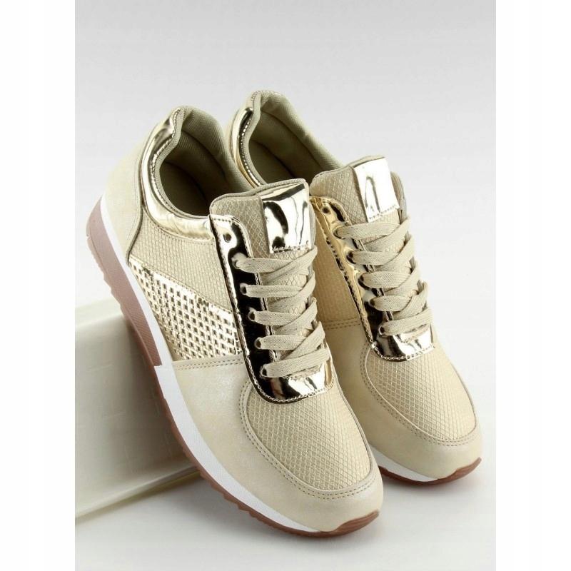 Buty sportowe damskie złote N007 GOLD 37 7520448711