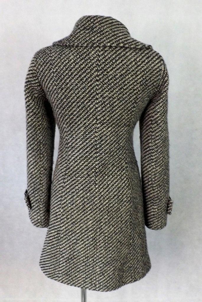 DE FACTO wełna ciepły zimowy płaszcz glam 40 JNOWY