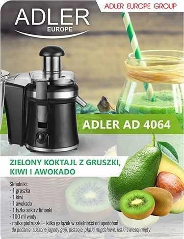 Sokowirówka i blender ADLER AD 4064 Czarny