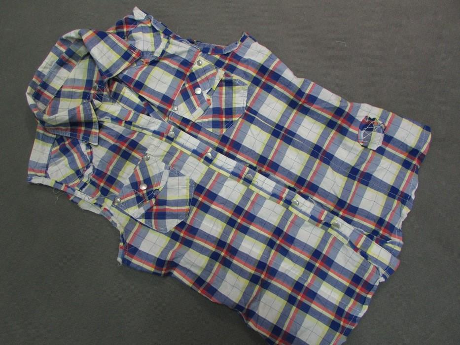 16KW* Koszula w kratkę na napy vintage___38 7295481130  ctDah