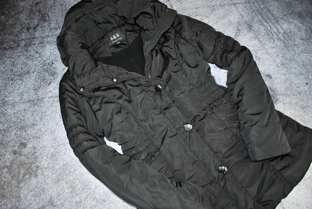 kurtka puco czarna fashion