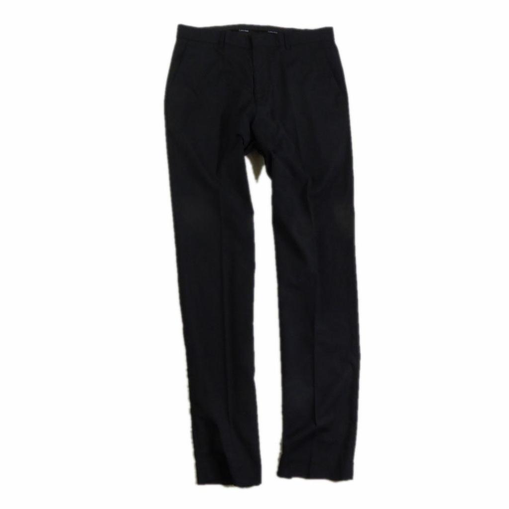 Calvin Klein __ Czarne Eleganckie Spodnie __ 30/32