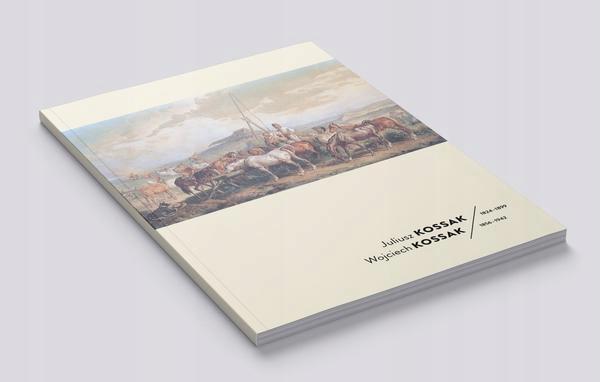 katalog z wystawy Kossakowie w Rapperswil