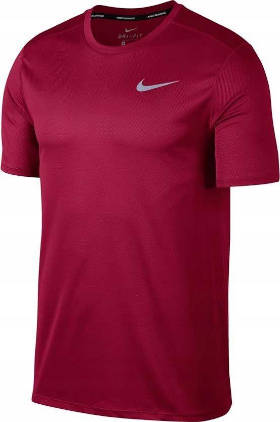 Koszulka męska Breathe Run Top Nike (bordowa)