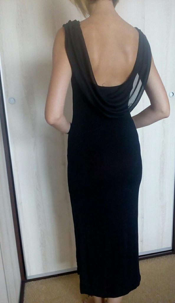 Wieczorowa sukienka, gołe plecy, sylwester r.S(36)