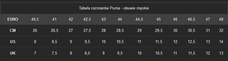 Buty męskie Puma Match Lite Mesh 358263 02 40.5 D
