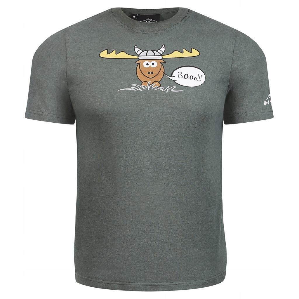 Koszulka T Shirt Fjord Nansen Moose Booo XL