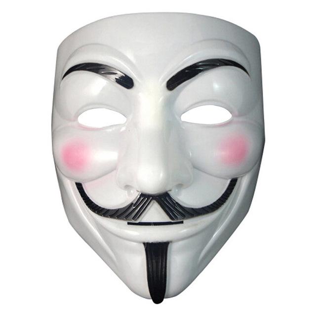 Maska Anonymus V For Vendetta Halloween Okazja 7076730467 Oficjalne Archiwum Allegro