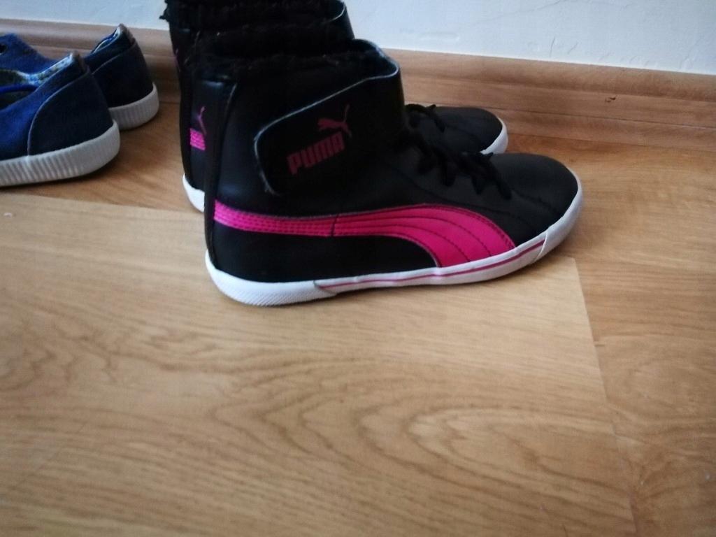 PUMA buty ocieplane za kostkę 34 gratis trampki