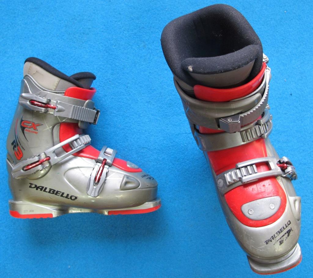 Buty narciarskie DALBELLO 24,5 38,0 używane junior