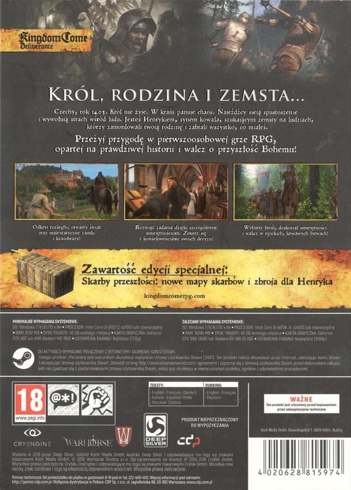 Edycja Kolekcjonerska (PC)   Kingdom Come: Deliverance