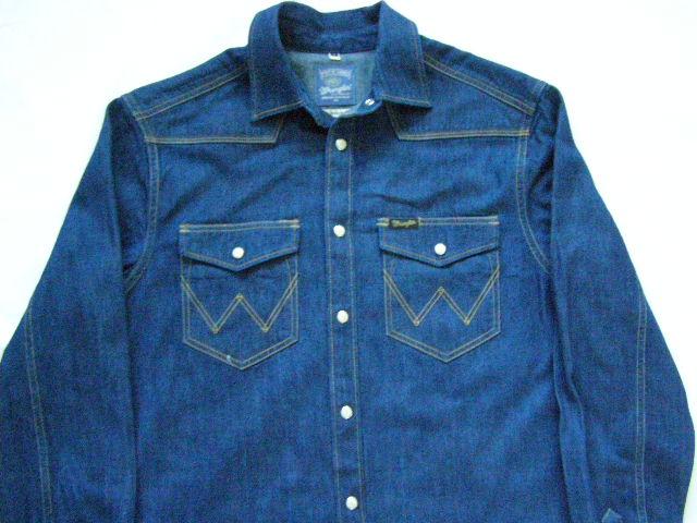 WRANGLER klasyczna jeansowa bluza ROZ.S JAK NOWA
