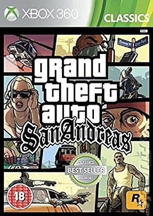 Gta San Andreas Xbox 360 Xbox One Nowa Folia 7585853761 Oficjalne Archiwum Allegro