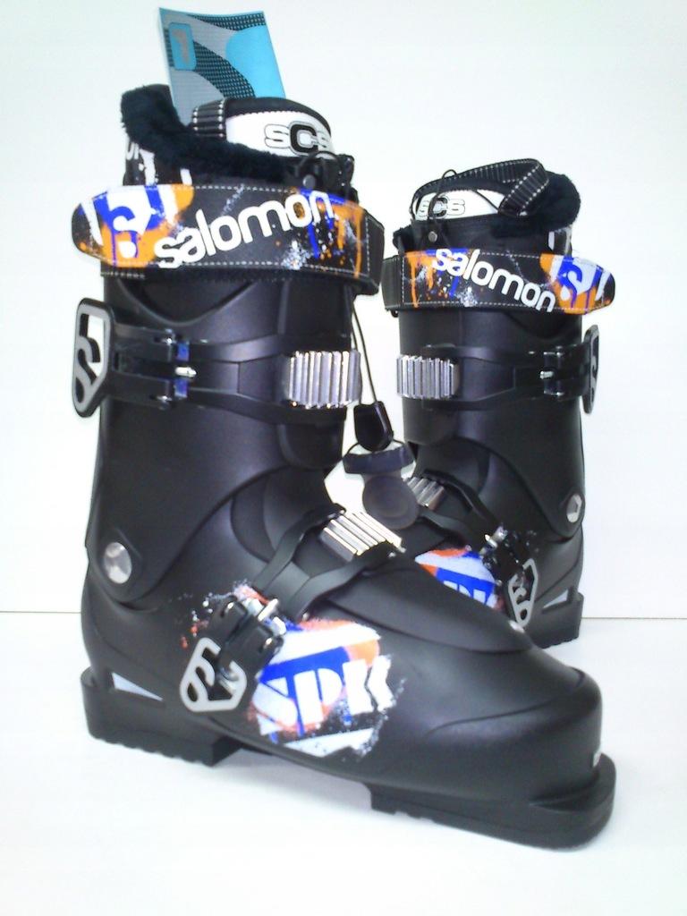 50% Buty Narciarskie Salomon SPK 75 25,5 black