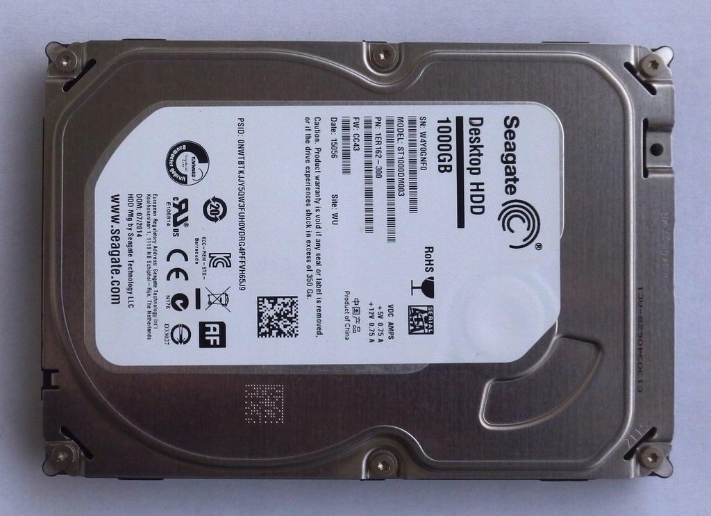 "Seagate Barracuda 1TB 7200RPM 64MB Cache 3.5/"" SATA Hard Drive HDD ST1000DM003"
