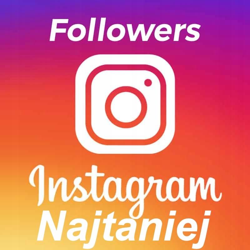 1000 Instagram Followers Obserwujacych Najtaniej 7740621102 Oficjalne Archiwum Allegro