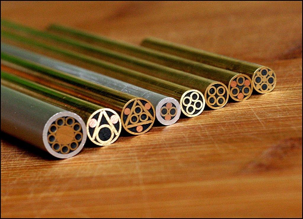 Knifemaking Piny Mozaikowe 10mm Noz Brzytwa 7346785416 Oficjalne Archiwum Allegro