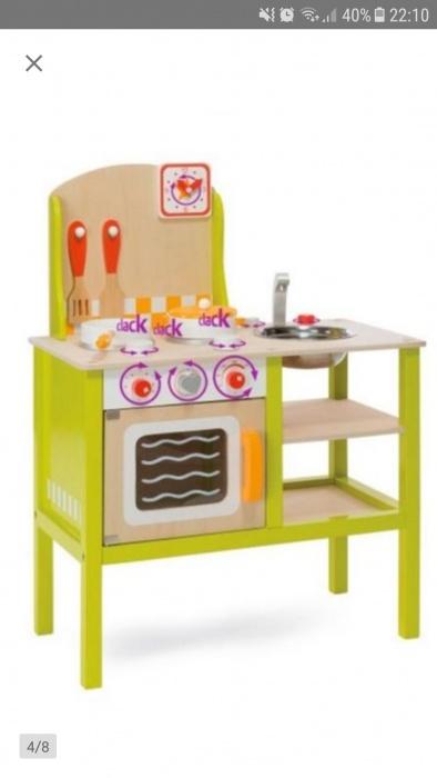 Kuchnia Drewniana Eichhorn Plus Naczynia Dla Dziec 7294704404 Oficjalne Archiwum Allegro