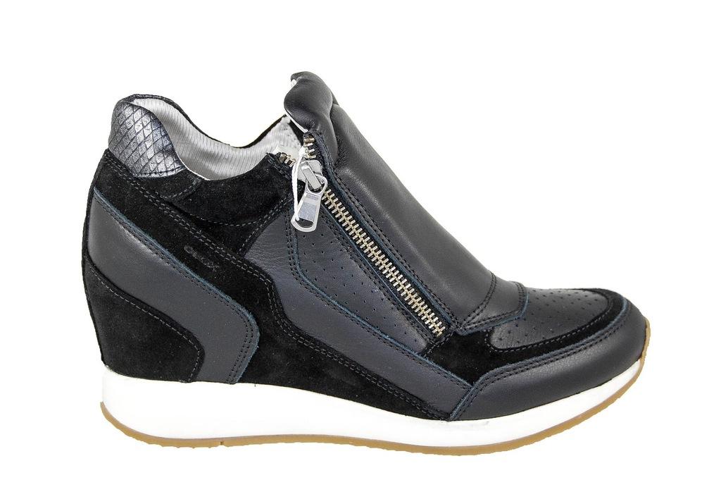 Sneakers GEOX D Nydame A D620QA 07722 C9002 Dk Grey