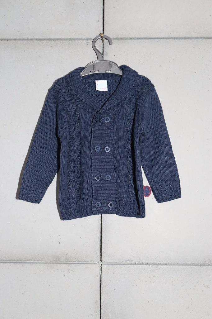 Sweter chłopięcy Coccodrillo 80 j.nowy